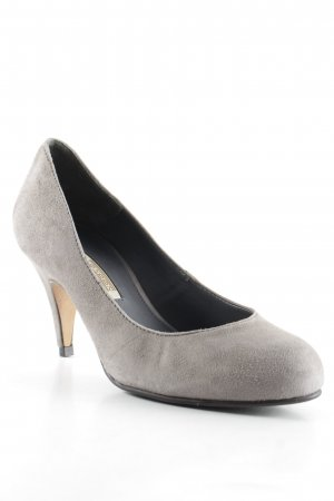 Buffalo London High Heels grau Business-Look