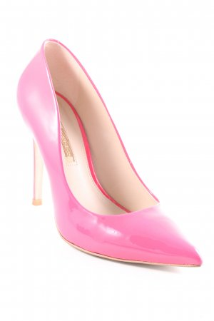 Buffalo London High Heels pink Glanz-Optik