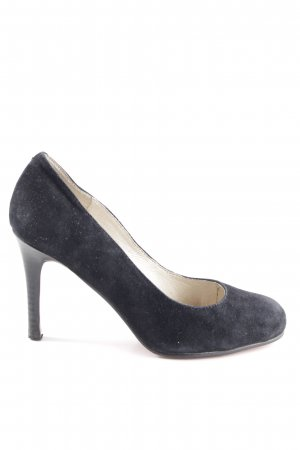 Buffalo London Tacones de plataforma negro estilo «business»