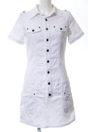 Buffalo London Denim Dress white casual look
