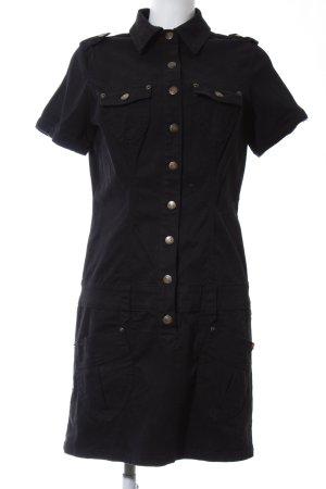 Buffalo London Denim Dress black business style