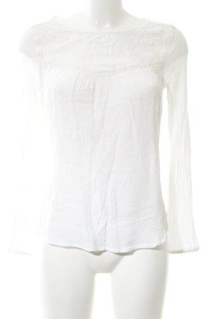 Buffalo London Langarm-Bluse weiß Elegant