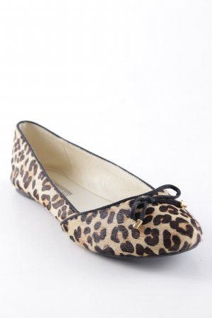 Buffalo London Mary Jane Ballerinas Animalmuster Animal-Look