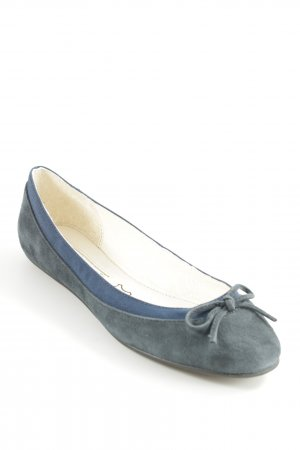 Buffalo London Mary Jane Ballerinas dunkelblau-creme Casual-Look