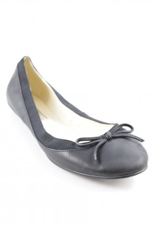 Buffalo London Mary Jane Ballerinas schwarz Casual-Look