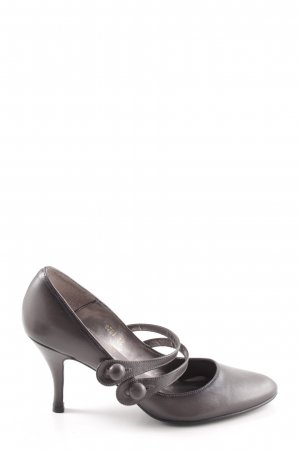Buffalo London Mary Jane pumps zwart casual uitstraling