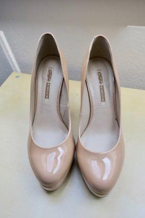 BUFFALO LONDON Nude Patent Heels, Gr. 41