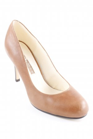 Buffalo London Peeptoe Pumps braun Casual-Look