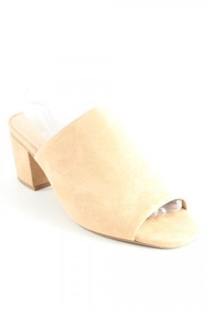 Buffalo London Peeptoe Pumps nude Nude-Look