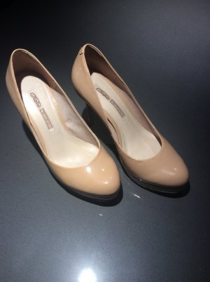 Buffalo London Plateau Pumps Lackleder nude Gr. 38