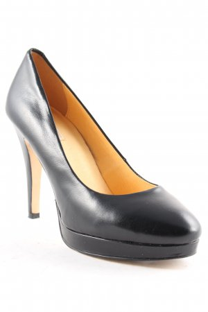 Buffalo London Pumps schwarz-creme Elegant