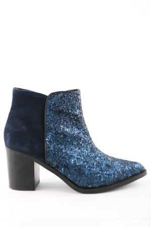 Buffalo London Reißverschluss-Stiefeletten blau Elegant