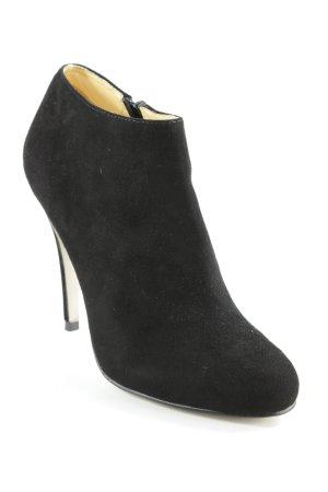 Buffalo London Reißverschluss-Stiefeletten schwarz Elegant