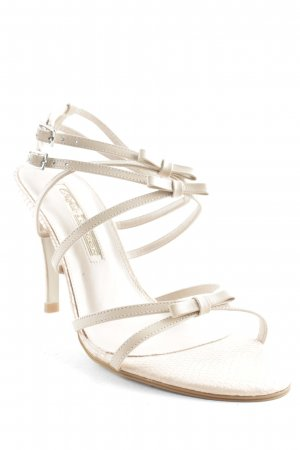 Buffalo London Strapped High-Heeled Sandals dusky pink-nude elegant