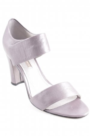 Buffalo London Strapped High-Heeled Sandals grey casual look