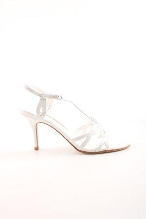 Buffalo London Riemchen-Sandaletten weiß Elegant