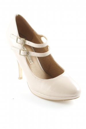 Buffalo London Riemchenpumps rosé-nude Elegant