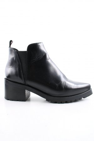 Buffalo London Bottines à enfiler noir style d'affaires