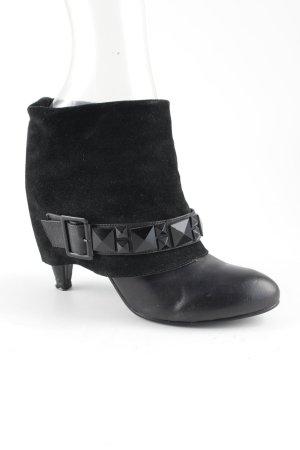 Buffalo London Schlüpf-Stiefeletten schwarz Street-Fashion-Look