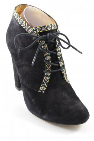 Buffalo London Lace-up Booties black casual look