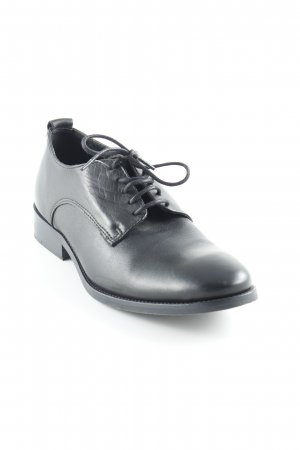 Buffalo London Schnürschuhe schwarz Business-Look