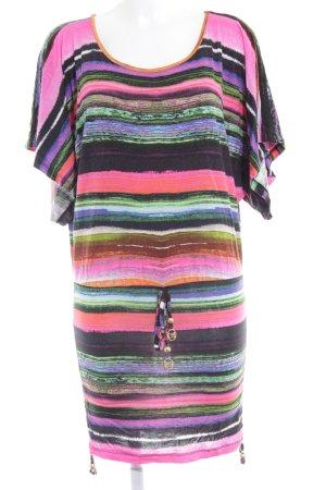Buffalo London Robe t-shirt motif abstrait style décontracté