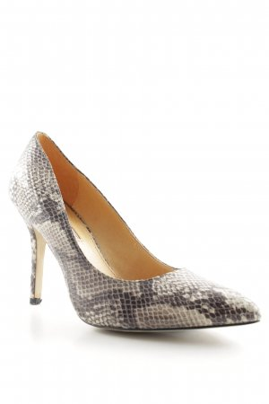 Buffalo London Spitz-Pumps Animalmuster Animal-Look