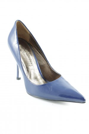 Buffalo London Spitz-Pumps dunkelblau Elegant