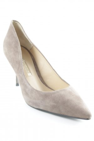 Buffalo London Spitz-Pumps hellbraun Business-Look
