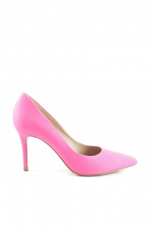 Buffalo London Spitz-Pumps pink Elegant