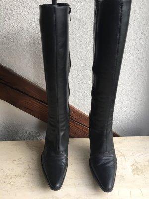 Buffalo London High Heel Boots black leather