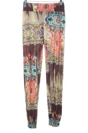 Buffalo London Pantalon en jersey motif floral Look de plage