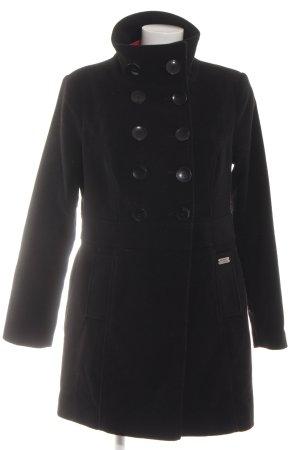Buffalo London Trenchcoat schwarz Casual-Look