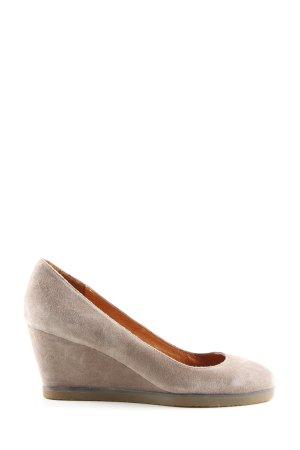 Buffalo London Wedges Sandaletten wollweiß Casual-Look