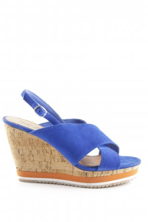 Buffalo London Wedge Sandals multicolored casual look