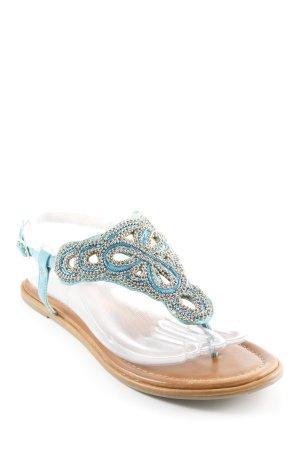 Buffalo London Toe-Post sandals multicolored Boho look