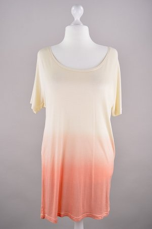 Buffalo Longshirt mit Farbverlauf orange Größe 36/38