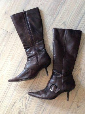 Buffalo Luxus * Leder Stiefel * only Gr. 41 Fashion Stiefeletten High Heel Tango