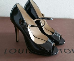 Buffalo Tacones Mary Jane negro