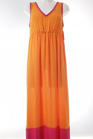 Buffalo Maxikleid orange-pink Urban-Look