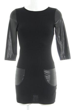 Buffalo Mini-jurk zwart casual uitstraling