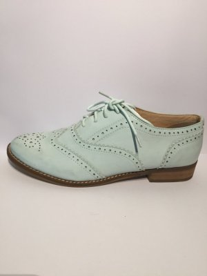Buffalo mint Budapester Leder Schuhe 39 NEU