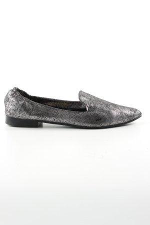 Buffalo Mocassino argento-grigio chiaro elegante