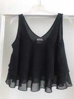 Buffalo Carmen shirt zwart