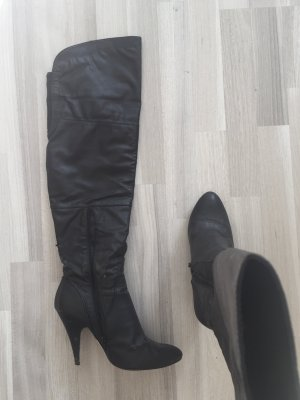 Buffalo + only Overknees Used Style ++ Stiefel Boots rock chic