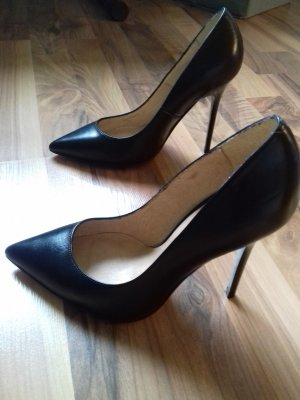 Buffalo Original Gr.37 schwarz Echtleder Pumps