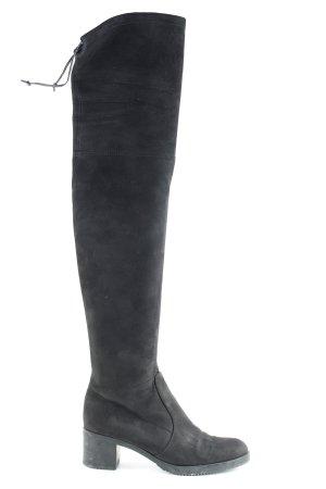 Buffalo Stivale cuissard nero stile casual