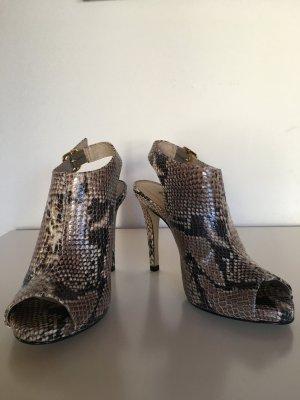 BUFFALO-Peeptoe Sandalette