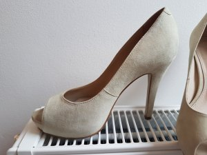 Buffalo Peeptoes beige 36