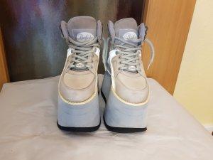 Buffalo Chelsea laarzen zilver-wit Leer